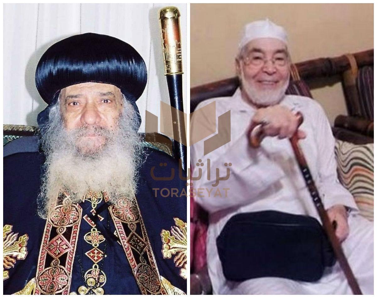 حسن يوسف - البابا شنودة
