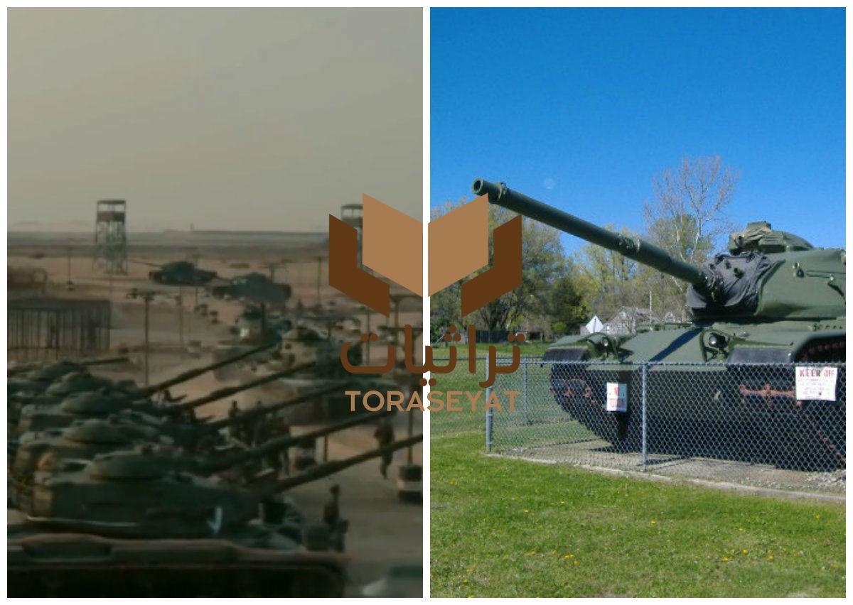 دبابات ام ٦٠ ايه ٣