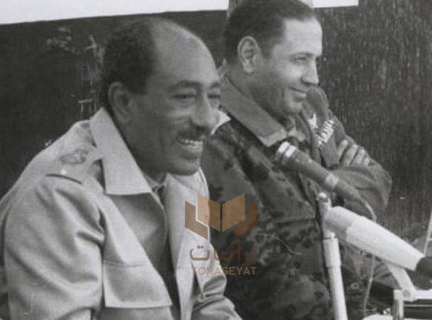 سعد الشاذلي وأنور السادات