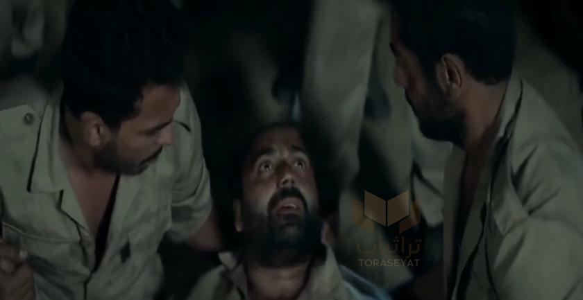 مشهد هروب الأسرى في فيلم الممر