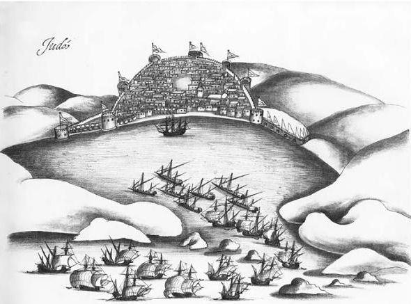 الحلف العثماني المملوكي ضد البرتغاليين
