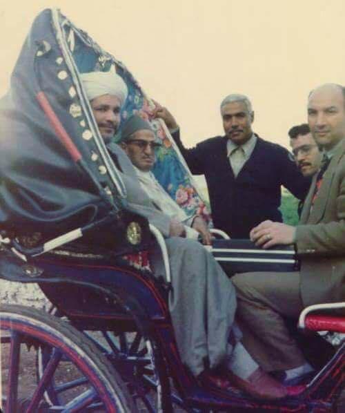 الشيخ أحمد محمد الحافظ في الثمانينيات