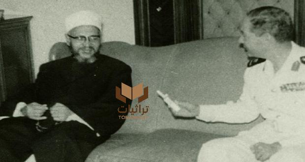الشيخ عبدالحليم محمود في المولد النبوي