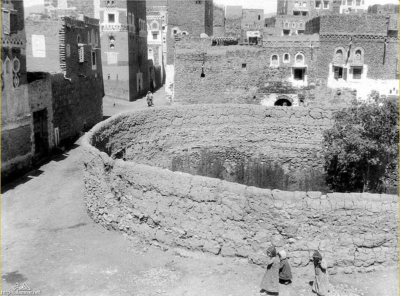 بقايا كنيسة أو كعبة أبرهة الحبشي في صنعاء القديمة
