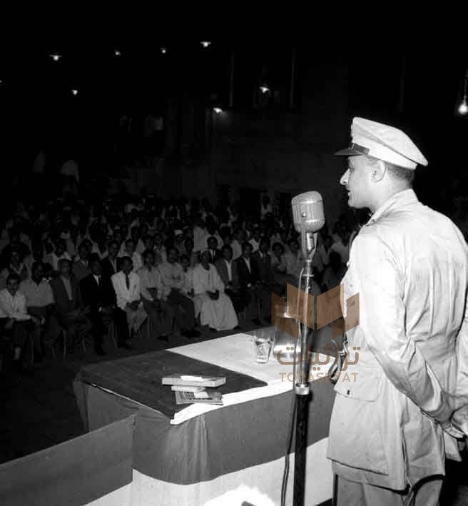 جمال عبدالناصر في هيئة التحرير