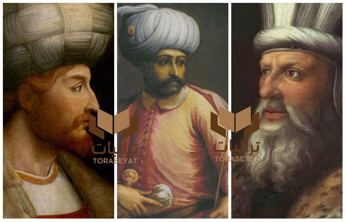 قانصوه الغوري - سليم الأول - إسماعيل الصفوي