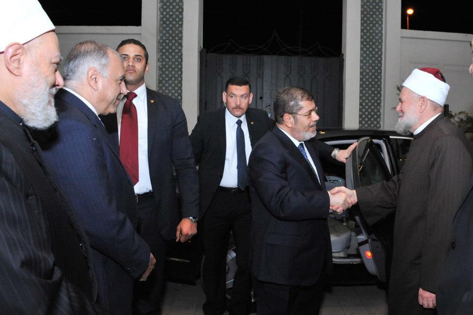 مرسي في المولد النبوي