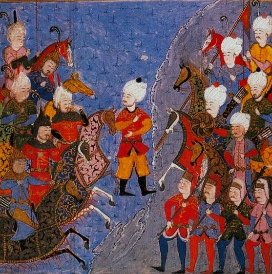 من معارك العثمانيين والصفويين