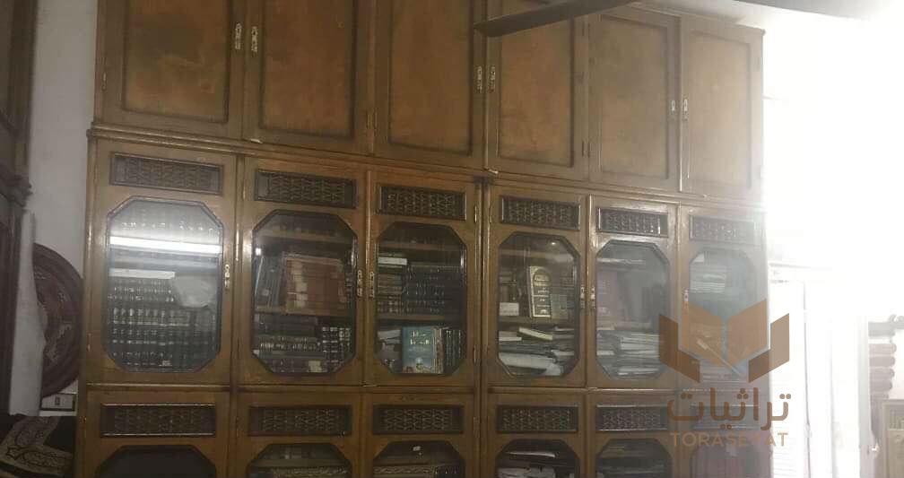 من مكتبة الشيخ أحمد محمد الحافظ التجاني في منزله