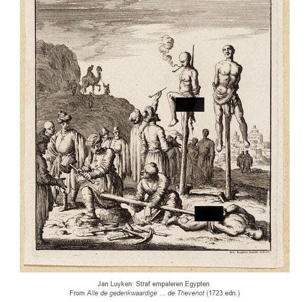 الخزوقة في الدولة العثمانية