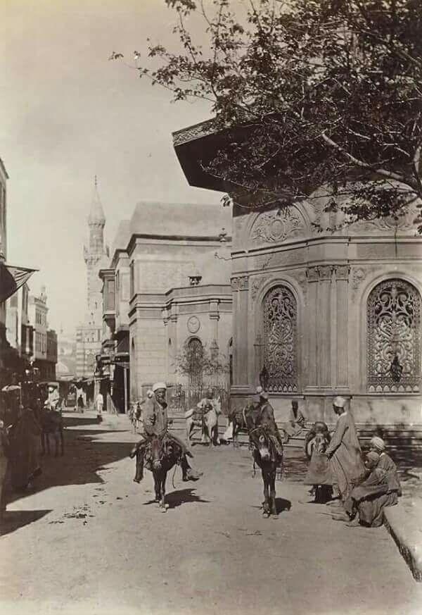 سبيل أم عباس- ناصية شارعي الصليبة والسيوفية
