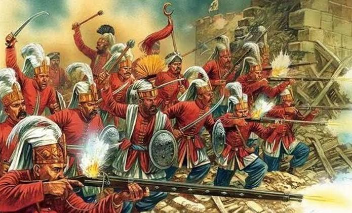معارك العثمانيين في الشوارع