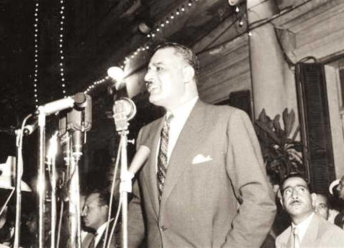 جمال عبدالناصر سنة 1956