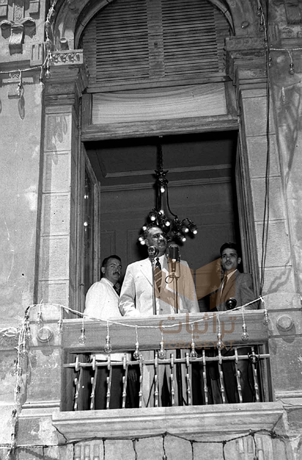 من خطب جمال عبدالناصر سنة 1956 م