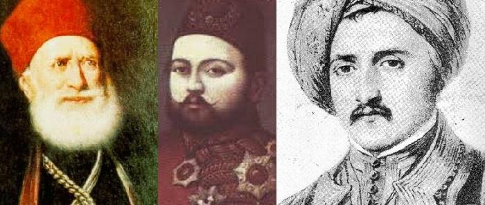 محمد علي و طوسن و يوسف أفندي
