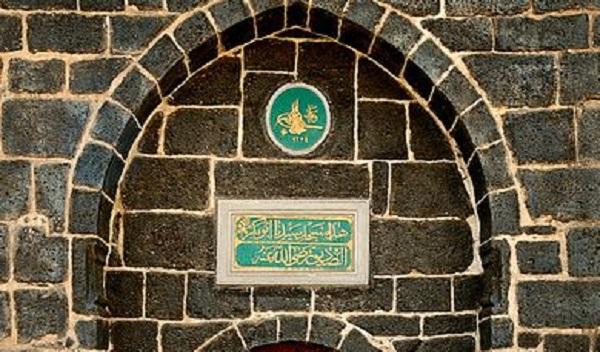 باب مسجد الصديق في المدينة المنورة