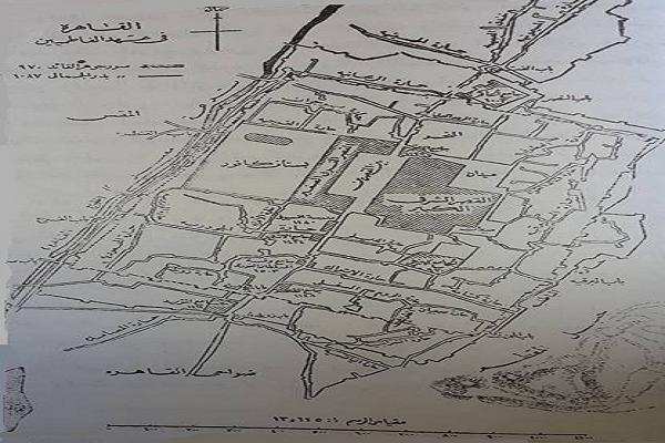 خريطة القاهرة الفاطمية