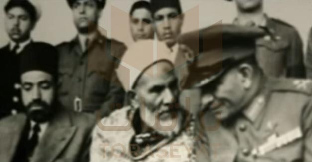 محمد نجيب ووالد حسن البنا وشقيقه