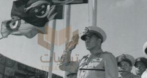 الرئيس محمد نجيب في احتفالات ثورة يوليو