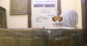 ضريح سيدي نصر الدين في شارع الهرم - تصوير: ولاء سيد
