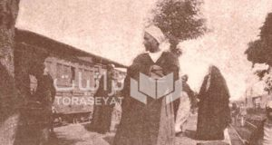 ركاب قطارات مصر زمان