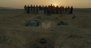 مشهد صلاة الجنازة على الشهداء في فيلم الممر